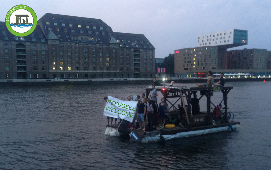 Bootschaft eV says Refugees Welcome